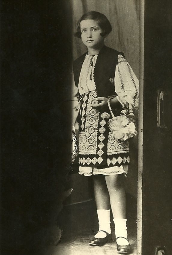 Virginia Zeani in Romania 1930s
