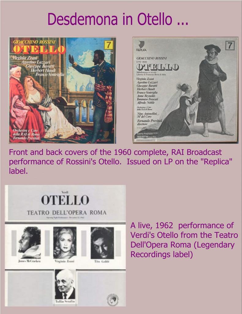Compilation - Desdemona in Otello