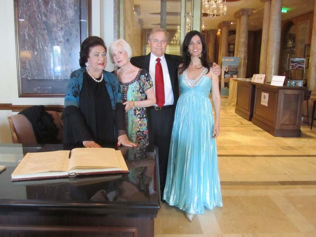 In Bucharest with The Kleinstivers and Cristina Necula