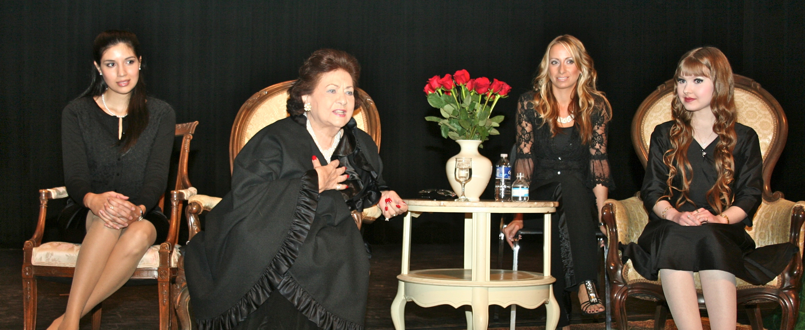 Vero Beach Opera Master Class with Maria Antunez, Lorrianna Colozzo, and Madison Marie McIntosh.
