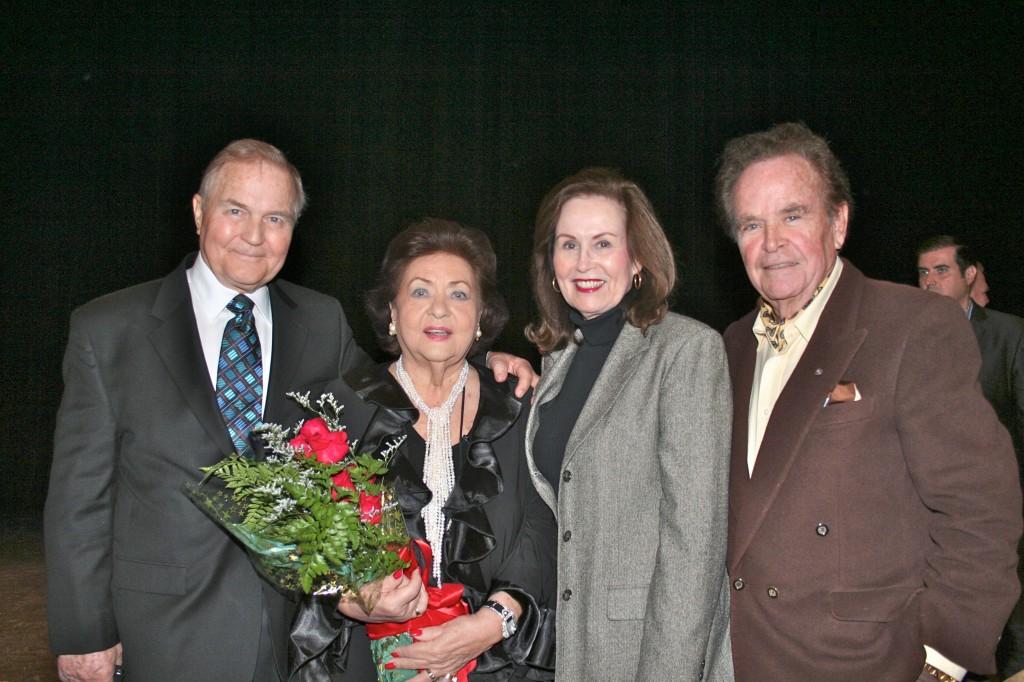 With Wayne Kleinstiver, Joan Ortega-Cowan, and Roman Ortega-Cowan, Vero Beach Opera