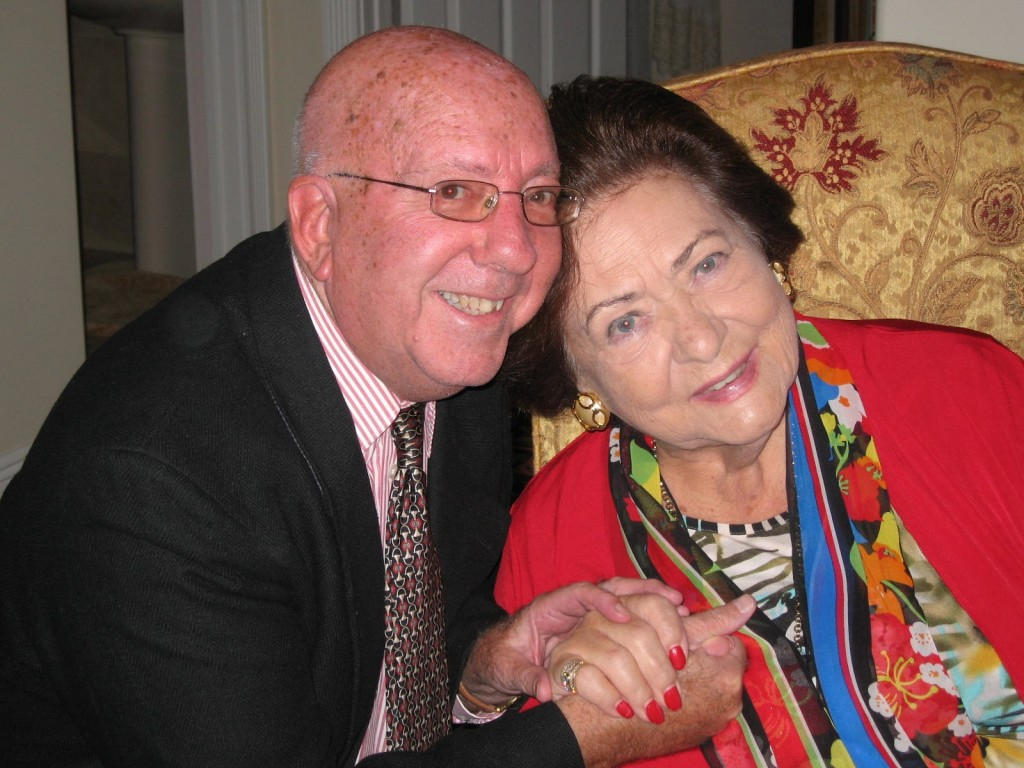 With Mario Hamlet-Metz opera  lover who heard Zeani in the 1950s