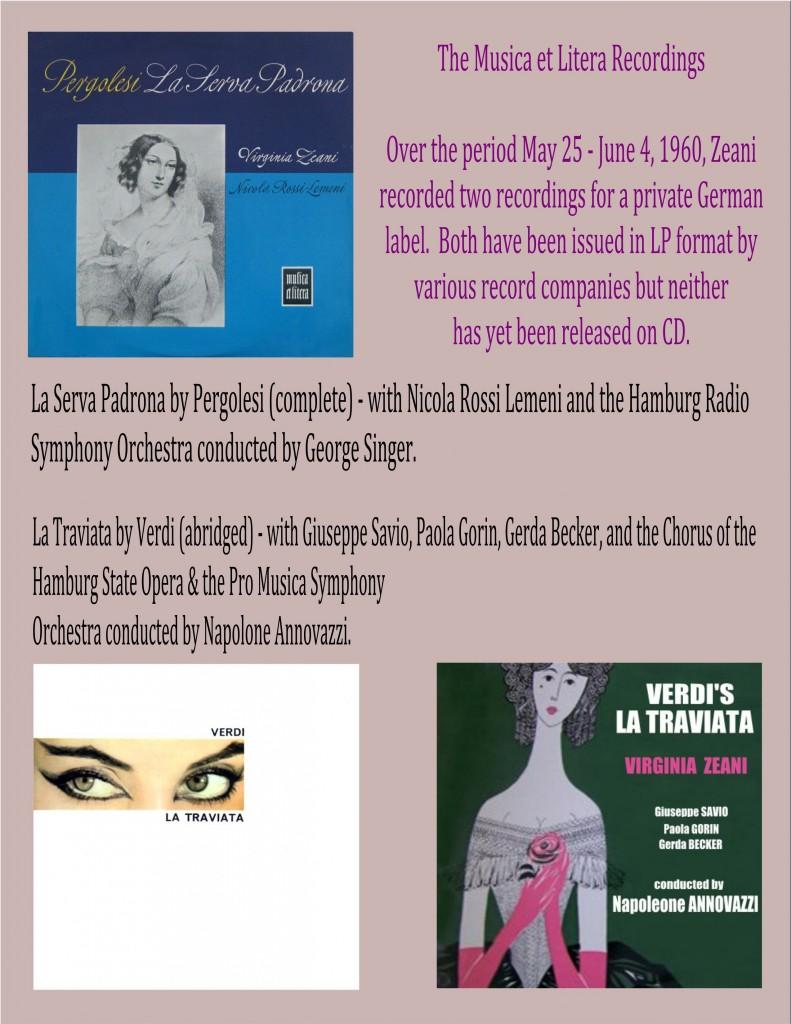 Musica et Litera Recordings