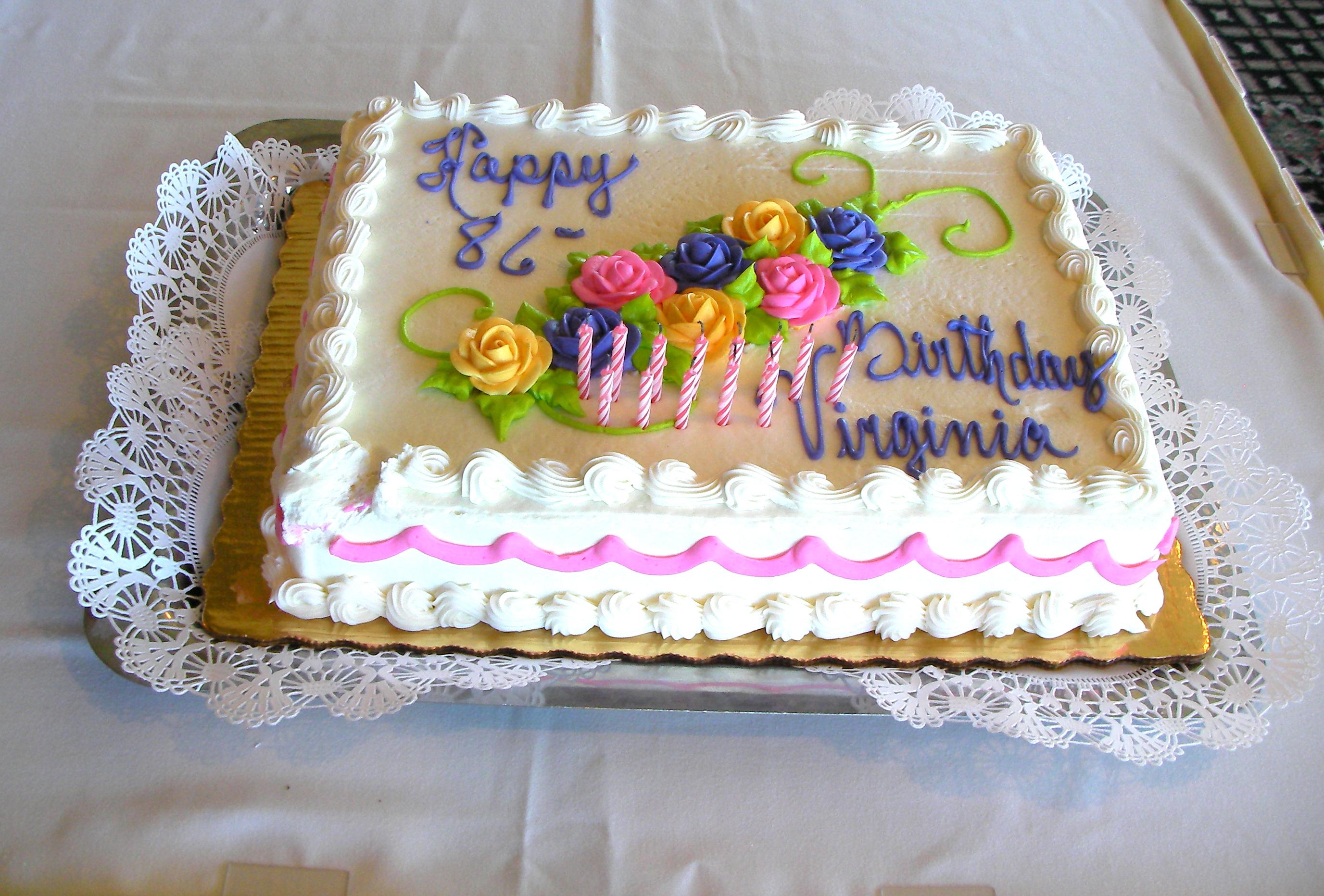 Happy Birthday Cake 2011