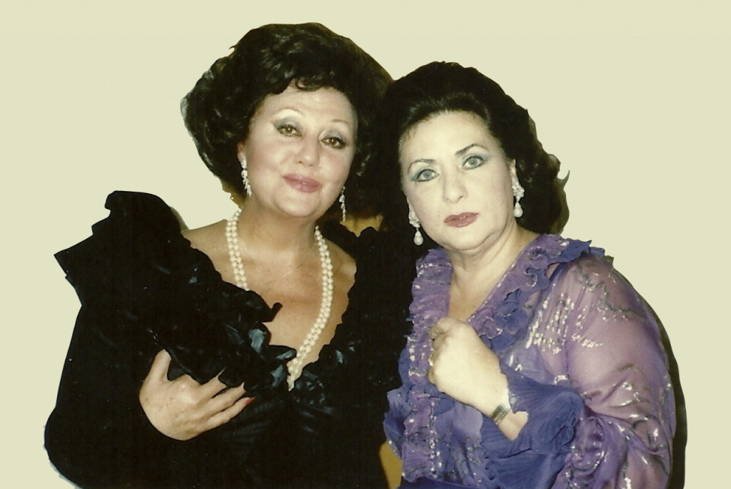 With Regine Crespin