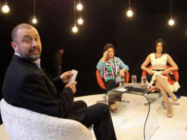 Virginia Zeani TV interview in Romania May 2011 with Angela Gheorghiu