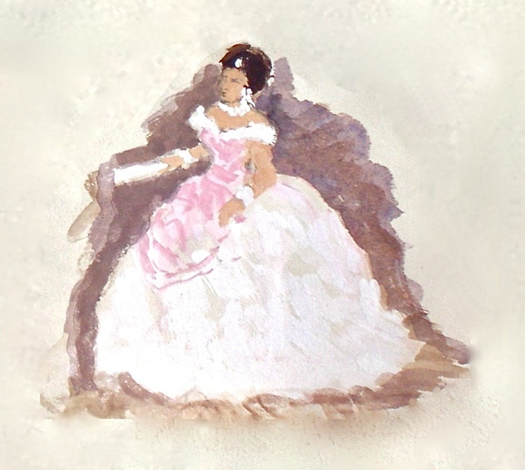 Violetta in La traviata Act 1