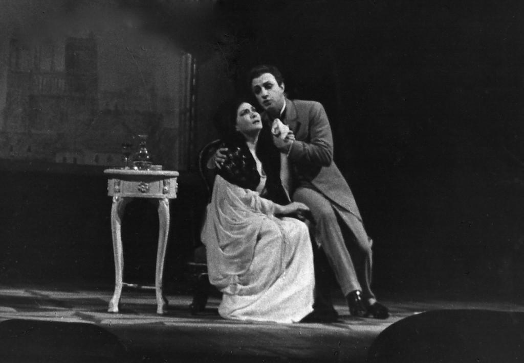 Violetta in La traviata Act 3