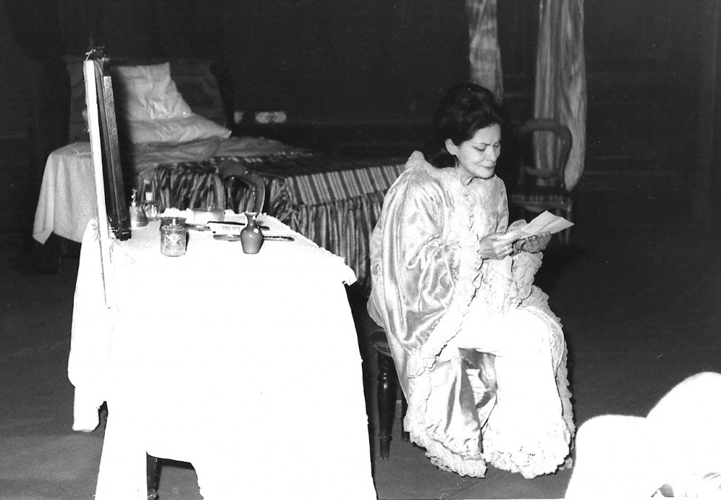 Violetta in La traviata Act 3
