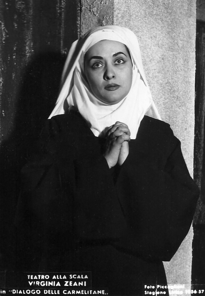 Blanche in the Dialogues of the Carmelites