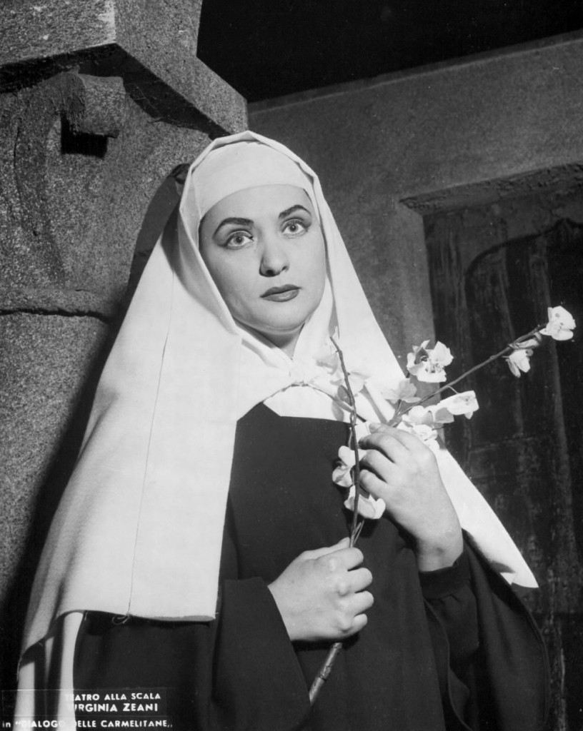 Blanche in the Dialogues of the Carmelites with Francis Poulenc