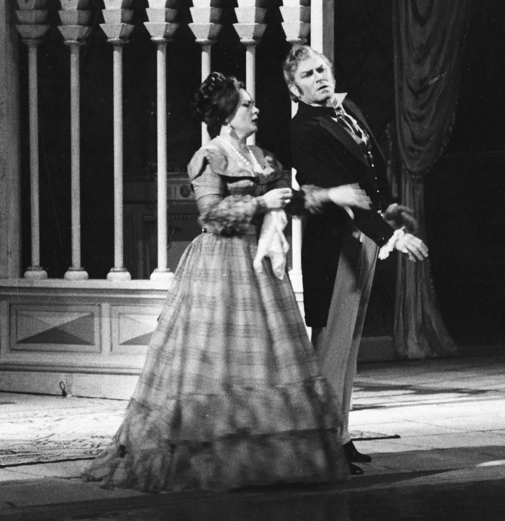 Tatiana in Eugene Onegin with Nicola Rossi Lemeni