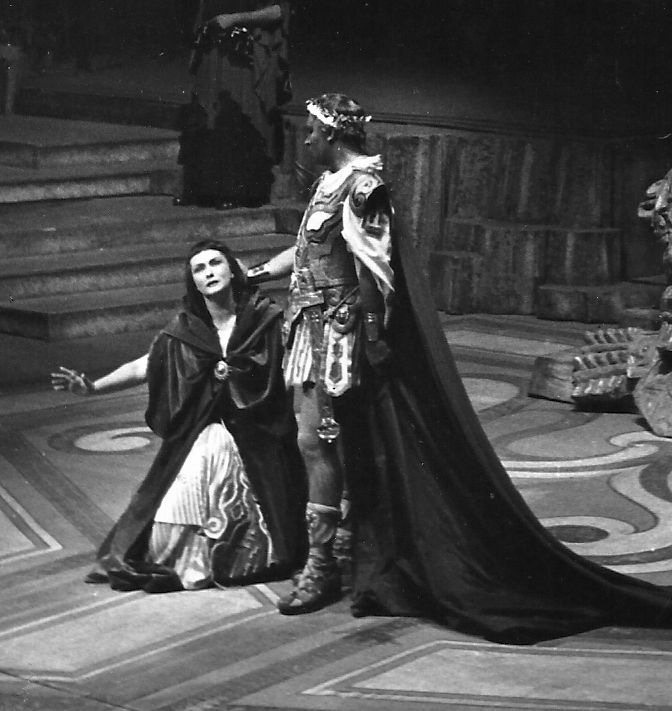 Cleopatra and Giulio Cesare