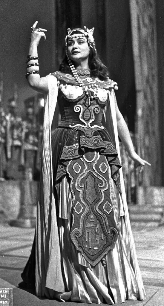 Cleopatra in Giulio Cesare