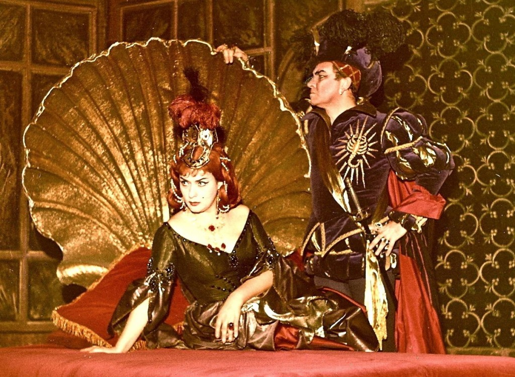 Giulietta in TheTales of Hoffmann with Nicola Rossi Lemeni