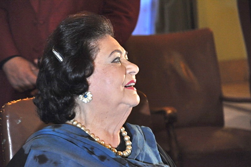 "Virginia Zeani signing her new book "" Canta che ti passa"" Romania May 2011"