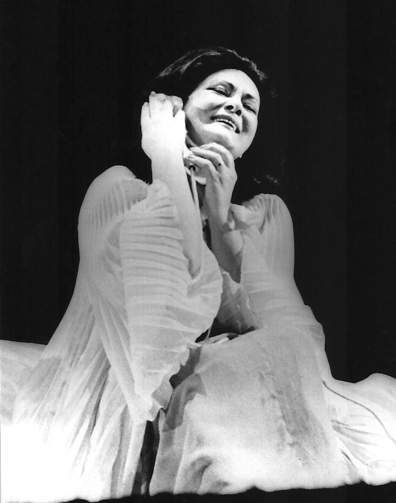 """Virginia Zeani in """"La Voix Humaine"""""""